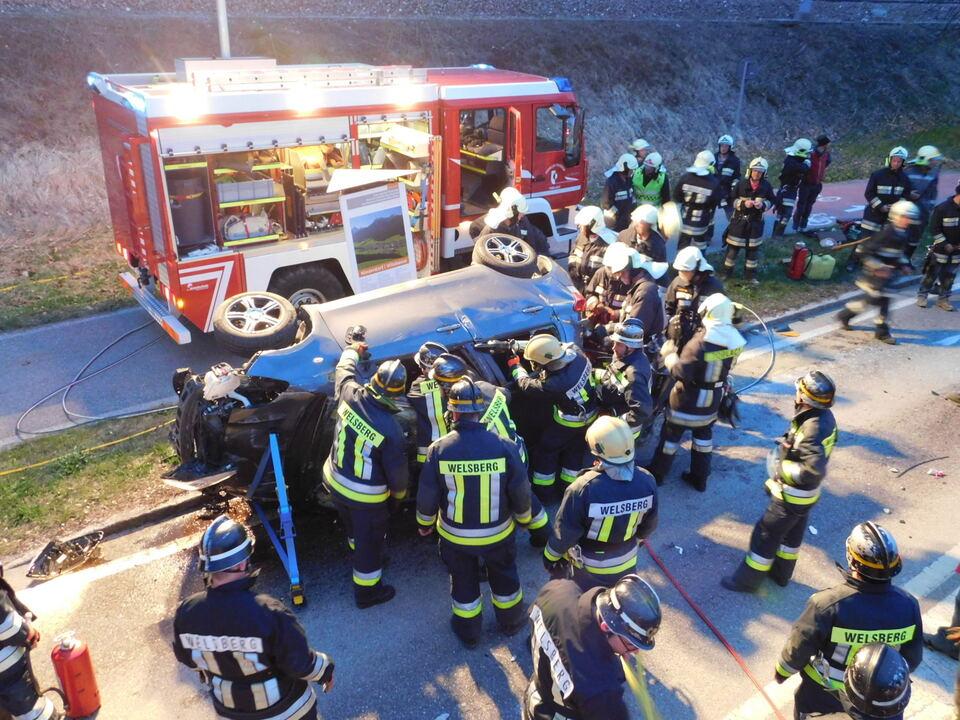 Bezirkseinsatzzentrale Oberpustertal/Unfall Niederdorf