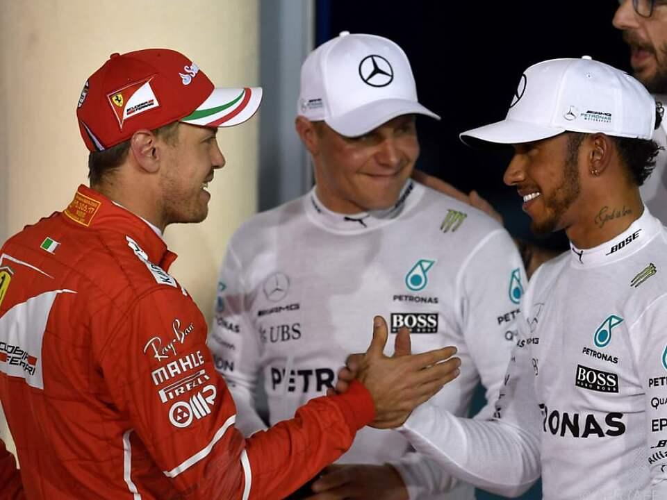 Duell Vettel vs. Hamilton zeichnet sich ab