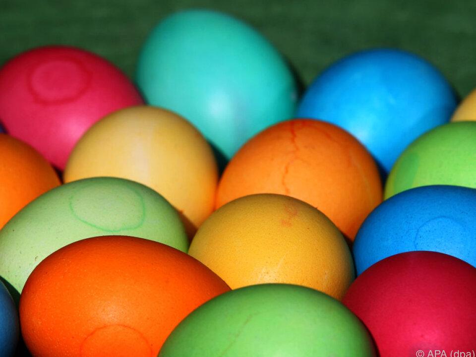 Eier länger haltbar als allgemein angenommen - also nicht zum Mist! ostern