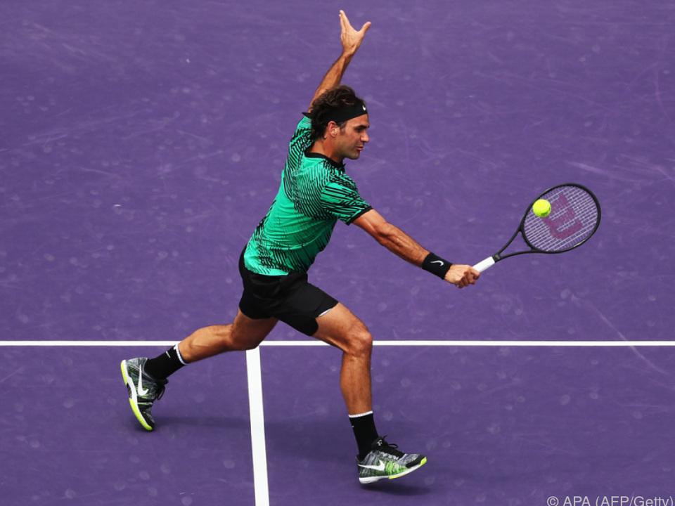 Federer klettert nun im ATP-Ranking auf Platz vier