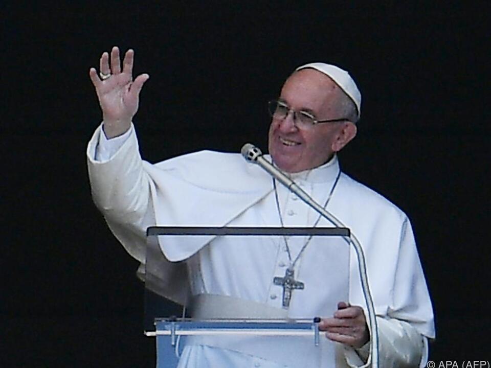 Franziskus sieht sich als Friedens-Botschafter