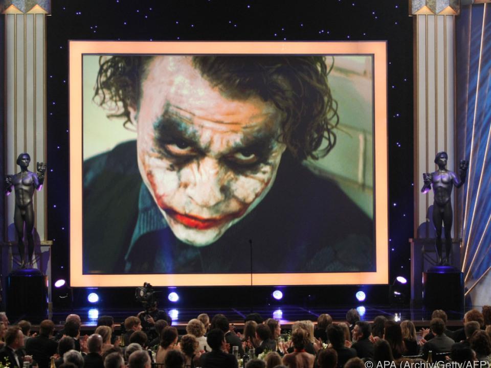 Für die Nebenrolle des Jokers wurde Ledger posthum mit dem Oscar geehrt