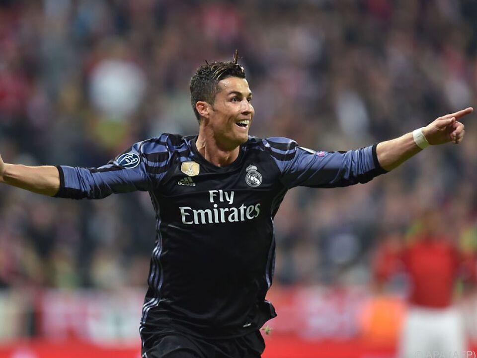Grund zum Jubeln für Cristiano Ronaldo