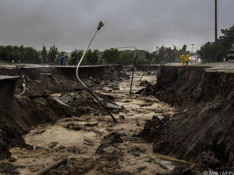 Hafenstadt Comodoro Rivadavia besonders stark betroffen