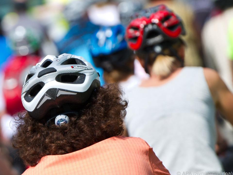 Helm am Rad sollte Pflicht sein fahrradhelm fahrrad