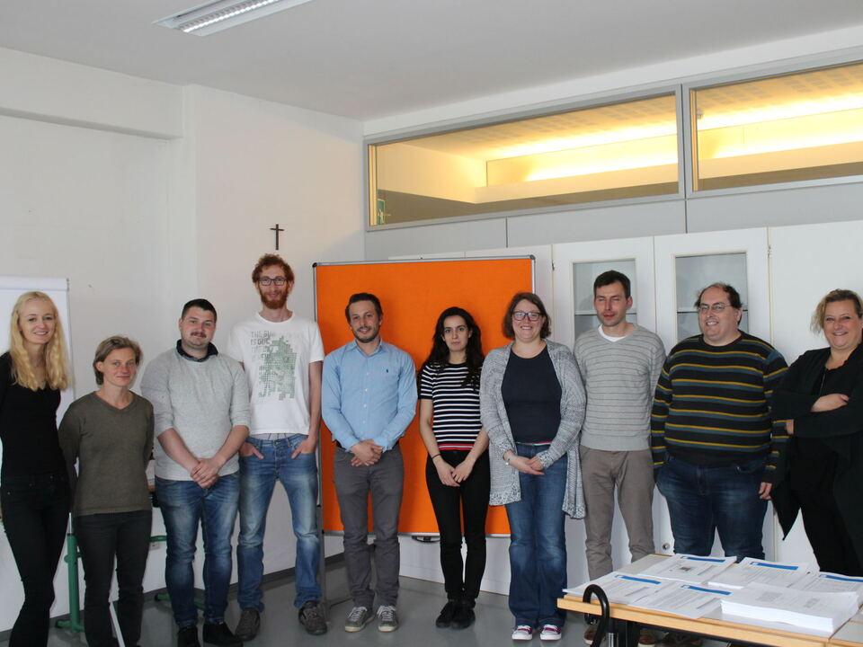 Teilnehmer neuer Lehrgang zum Handelsfachwirt
