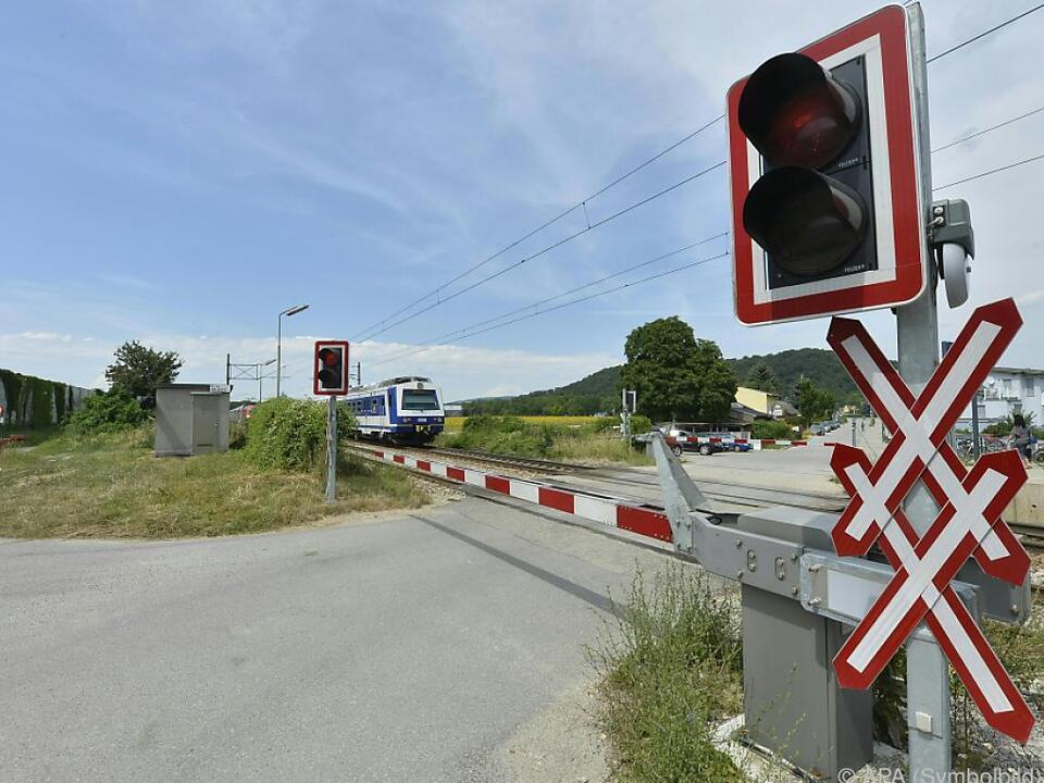 In Österreich gibt es 3.269 Bahnübergänge