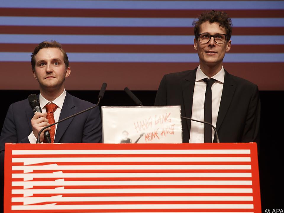 Intendanten Sebastian Höglinger und Peter Schernhuber sind zufrieden