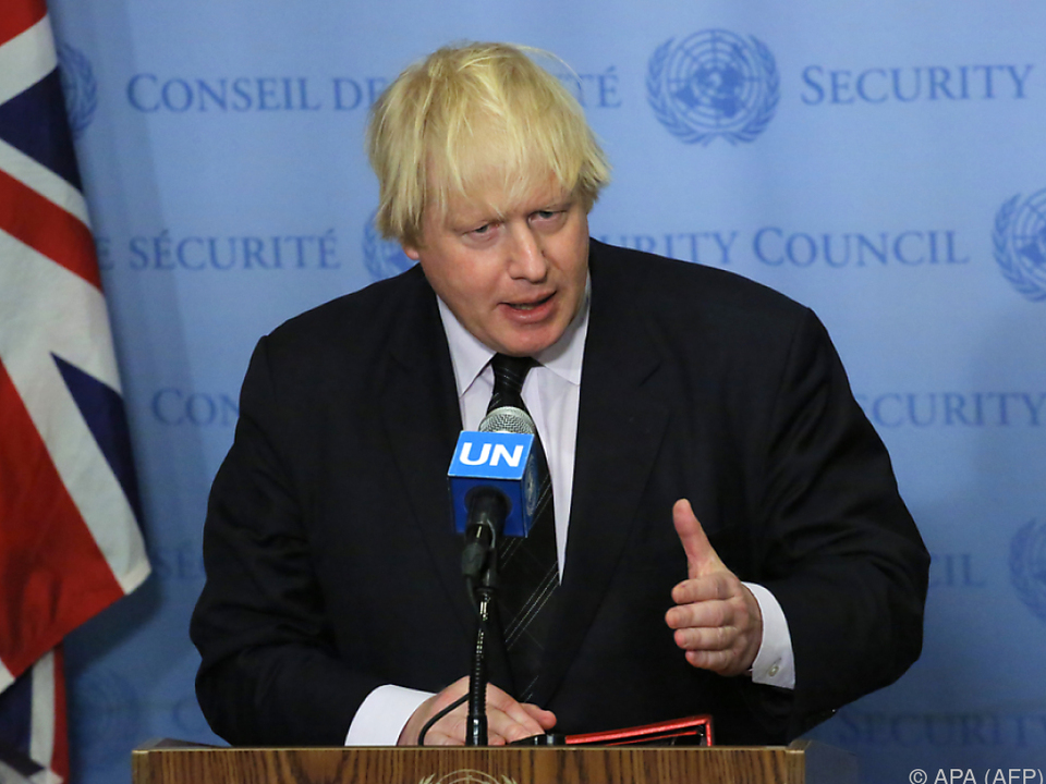 Johnson sagte Gibraltar seine volle Unterstützung zu