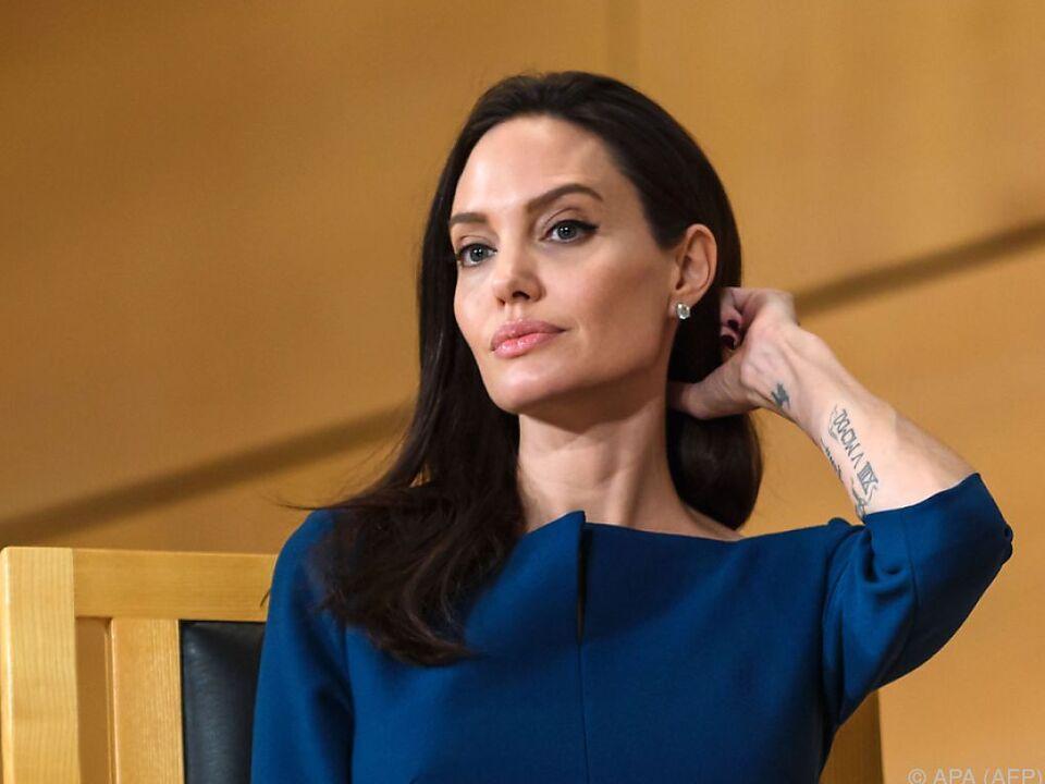 Jolie lässt sich nur selten für Werbezwecke einspannen