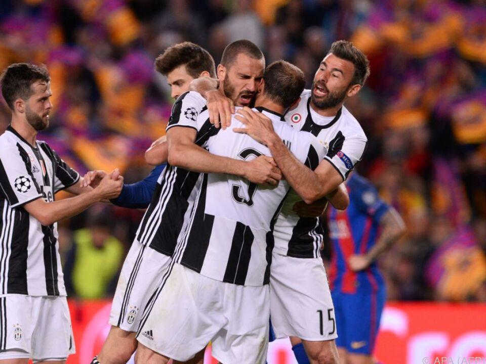 Juventus bleibt weiter auf Erfolgskurs