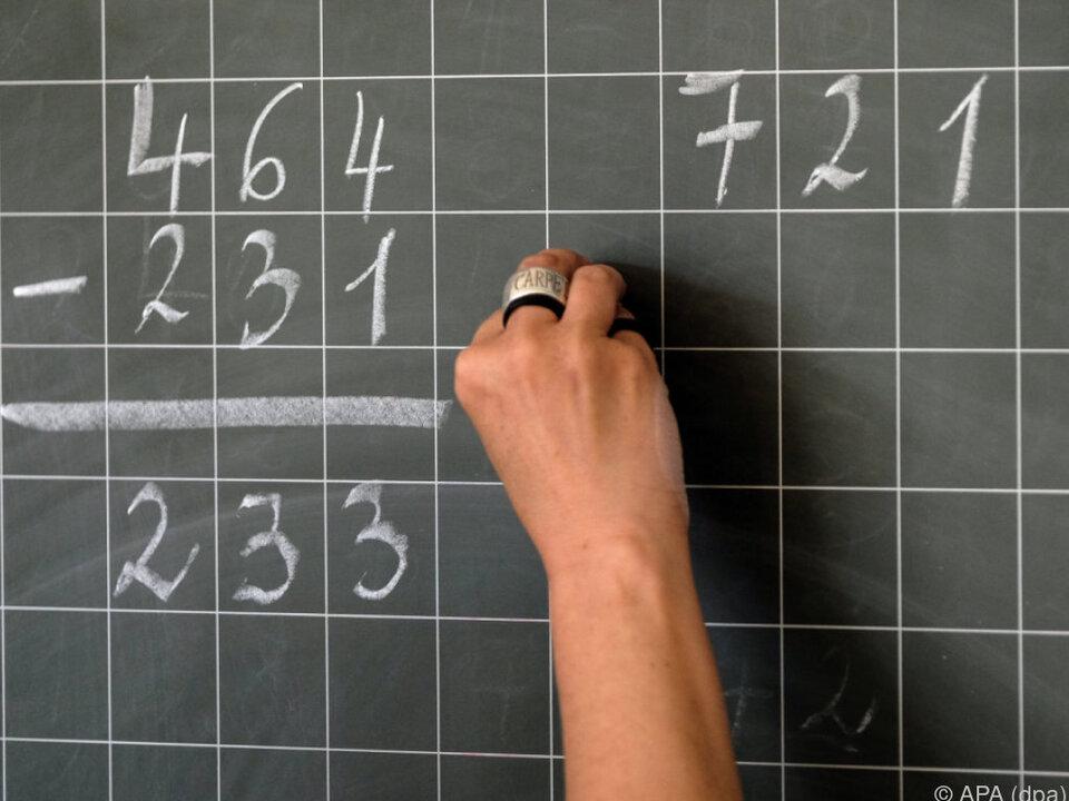 Kinder sollen ordentlich rechnen lernen mathematik schule schüler lehrer