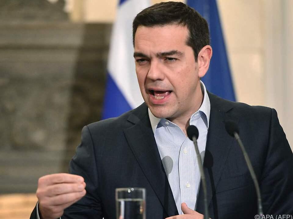 Laut Tsipras steht eine Einigung bevor