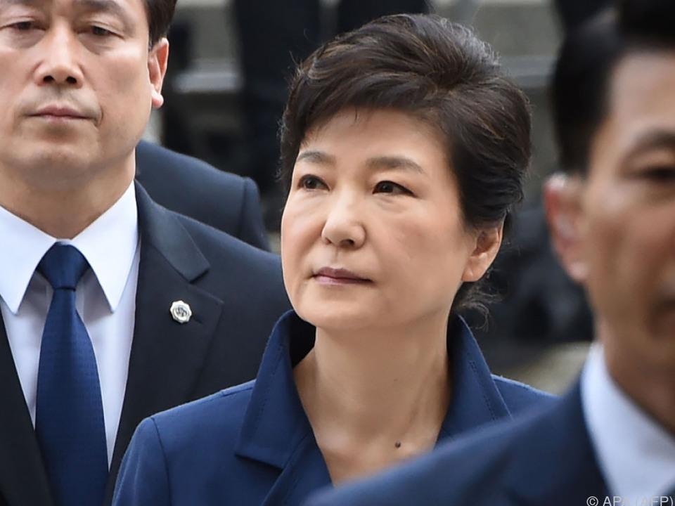 Offiziell Anklage gegen Park Geun-hye erhoben