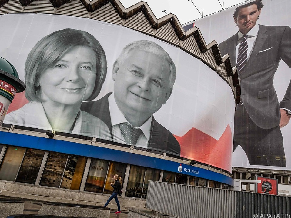 Präsident Lech Kaczynski und seine Frau kamen ums Leben