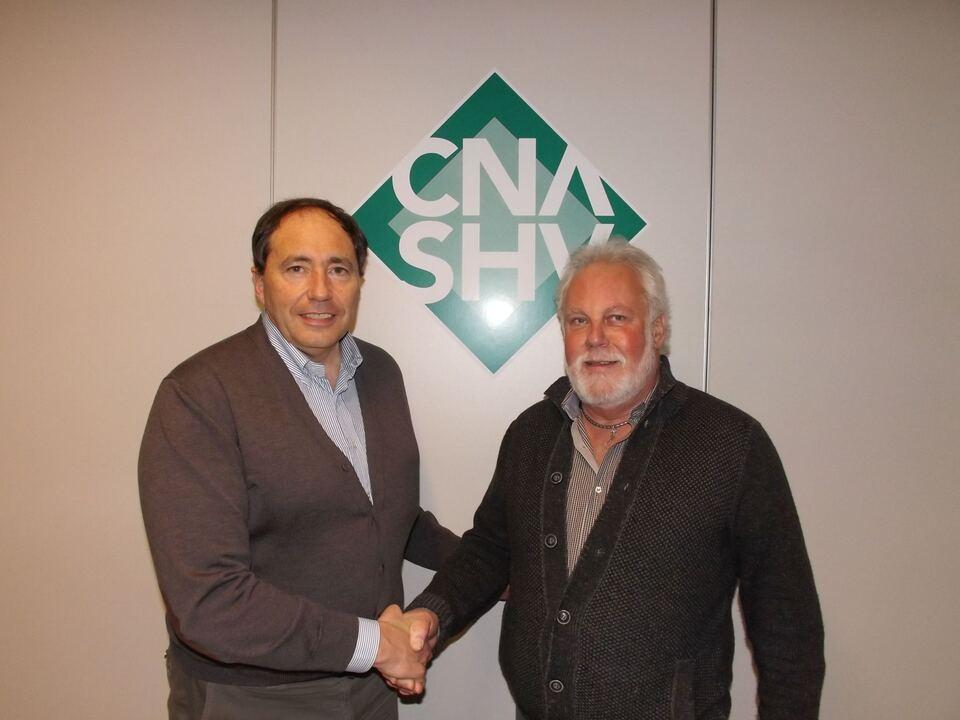 Umberto Prato/ Günther Rabanser/Präsidenten Revisionszentrum Bozen
