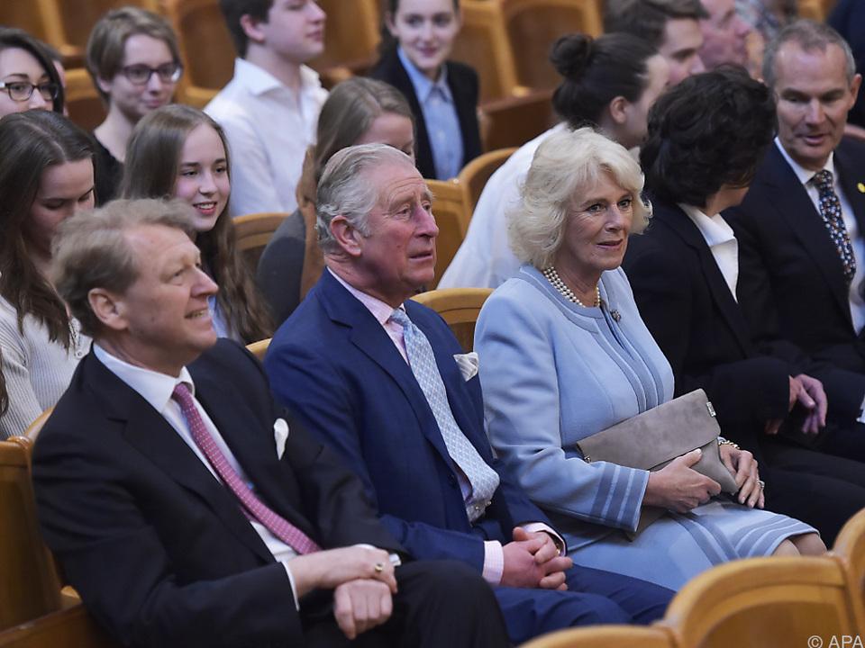 Prinz Charles fand die Probe der Philharmoniker \