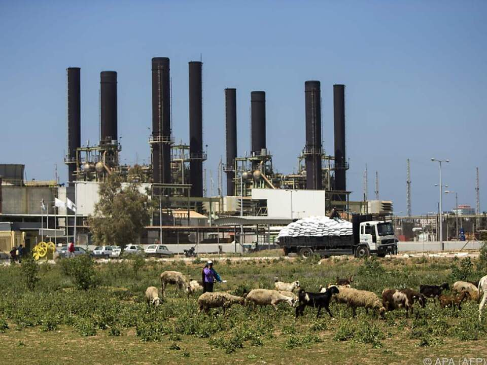Probleme mit der Stromversorgung im Gazastreifen