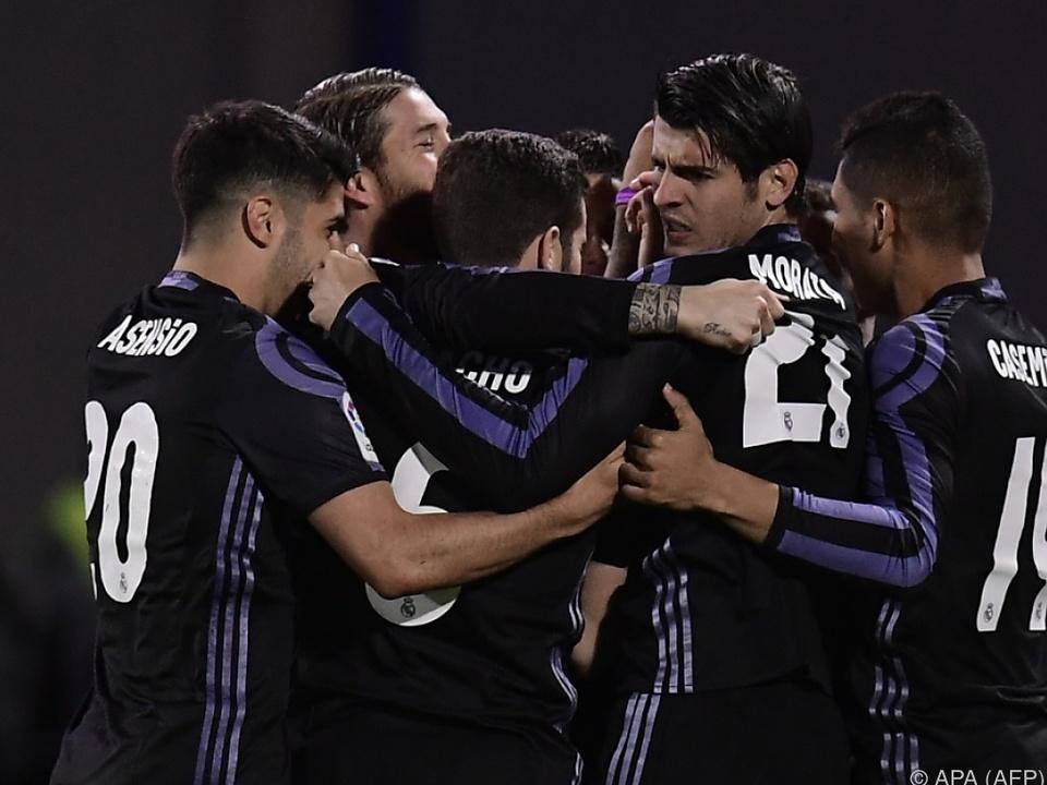 Real Madrid feierte ohne einige Stars einen 4:2-Erfolg