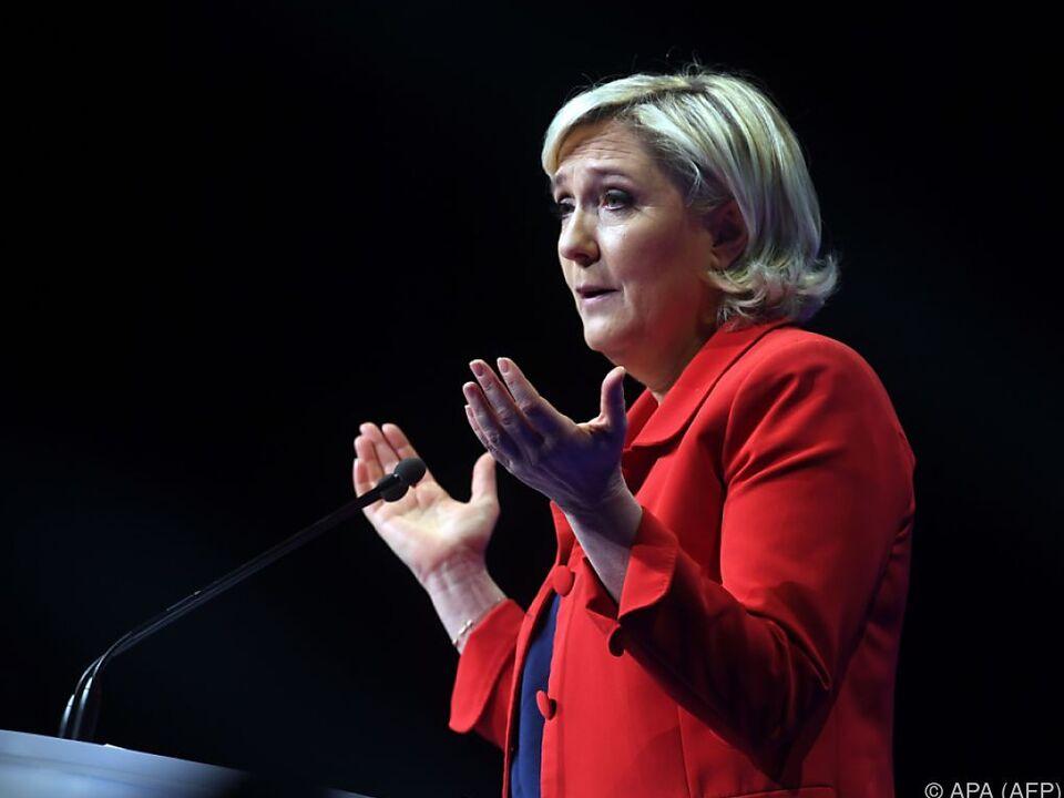 Rechtsaußen-Kandidatin Marine Le Pen