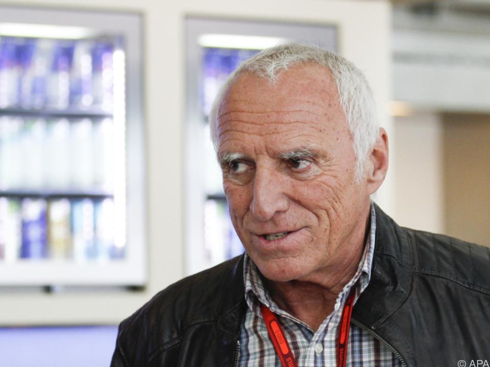 Red-Bull-Chef Dietrich Mateschitz ortet Erfolgsneid