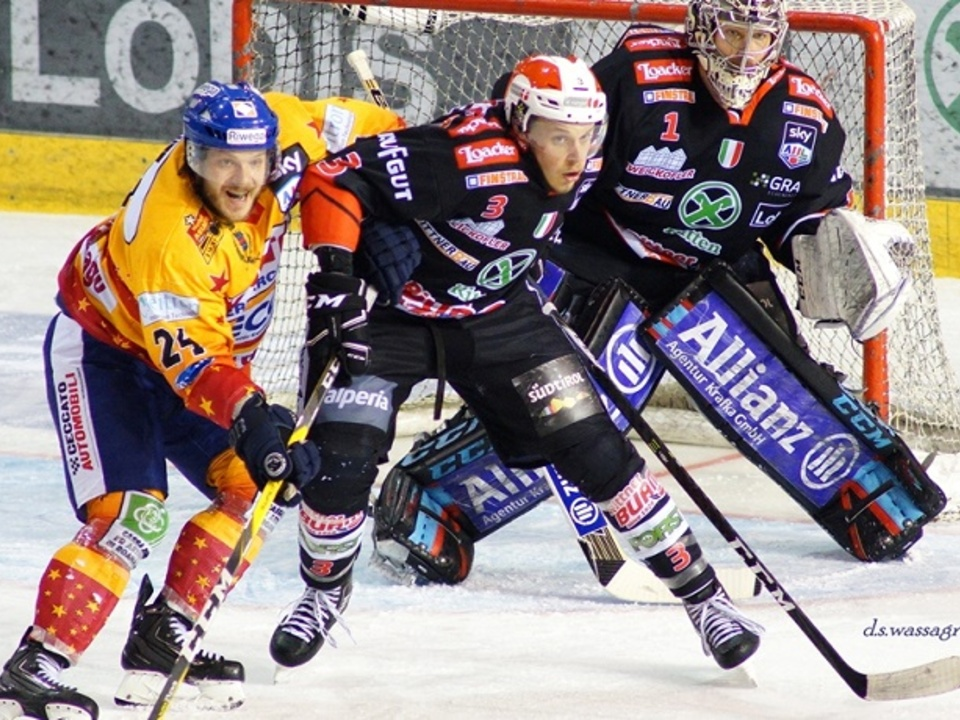 Ritten gegen Asiago Hockey