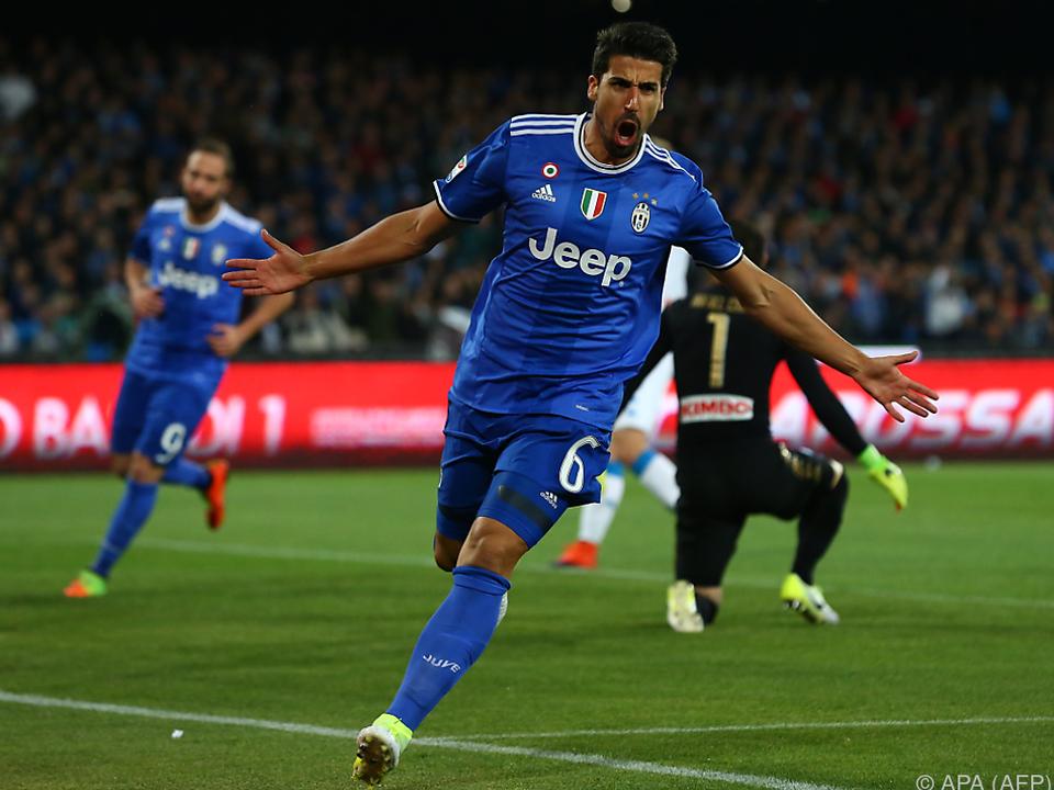 Sami Khedira brachte Juventus schon früh in Führung