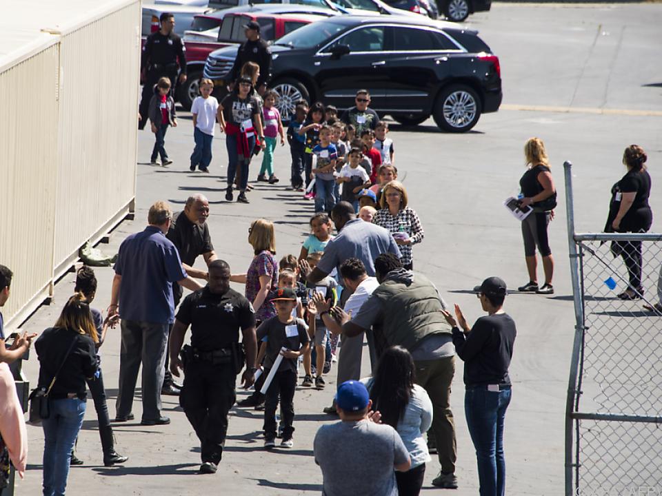 Schüler der betroffenen Schule wurden an anderen Ort gebracht