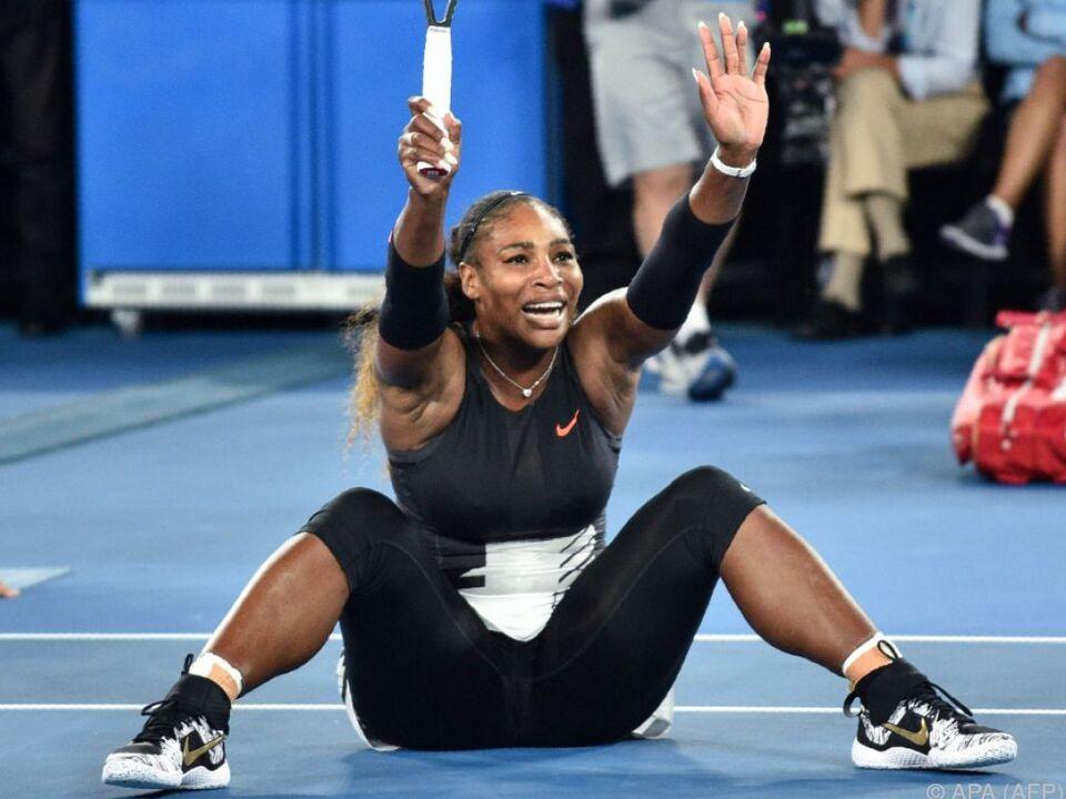 Serena Williams erwartet im Herbst ein Kind