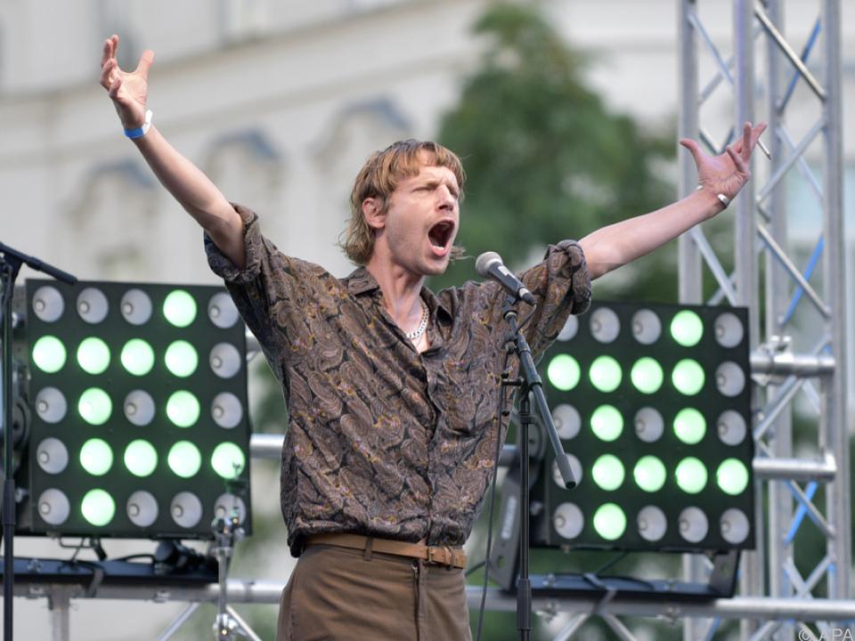 Singer-Songwriter Voodoo Jürgens bekommt einen Preis