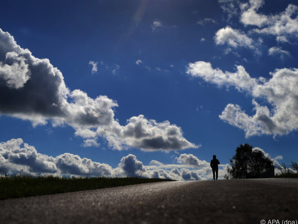Sonne, Wolken und Regen - All das wird es geben