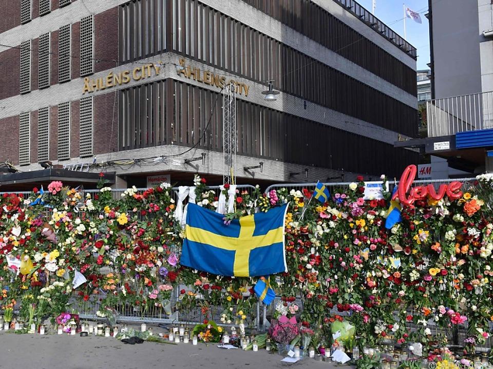 Stockholm steht noch immer unter Schock