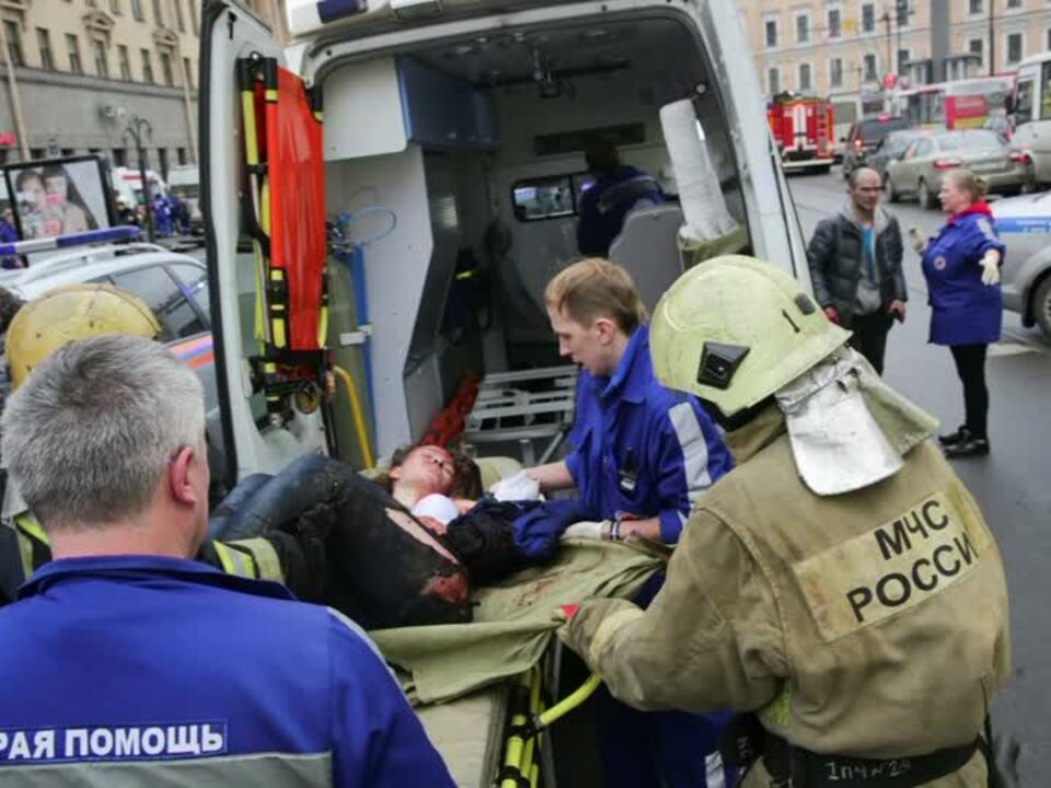 Tote bei Explosionen in Metro in St. Petersburg