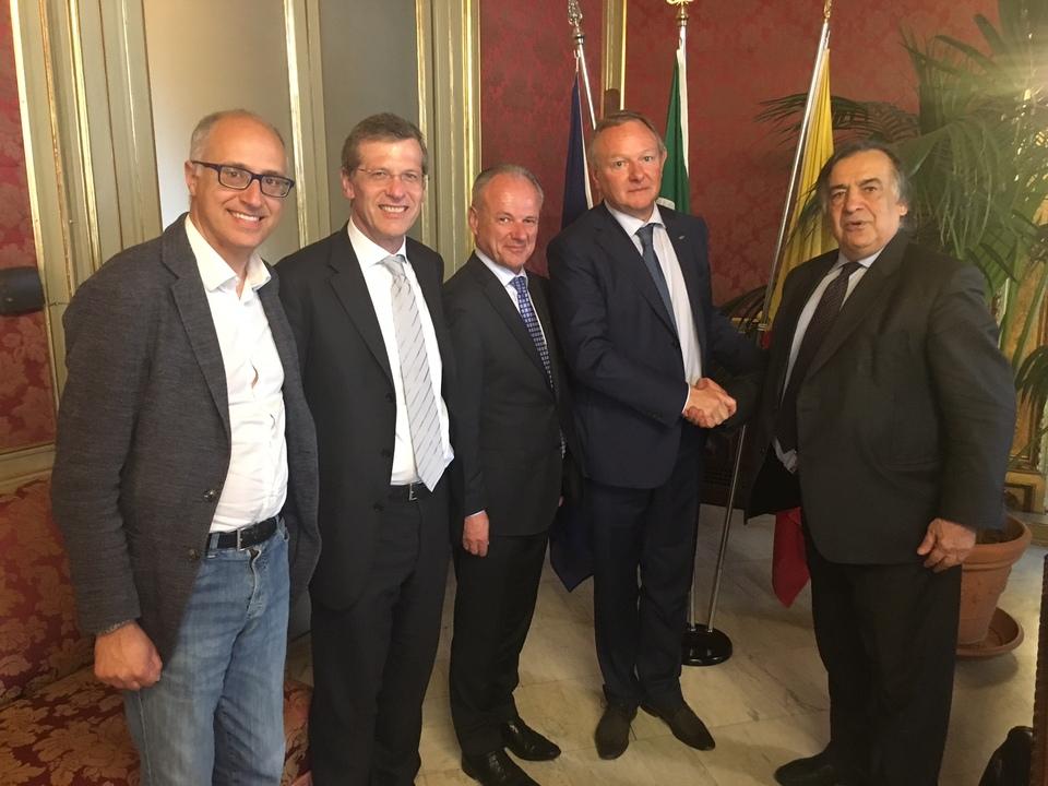 HGV Treffen mit Hotelfachschulen in Palermo