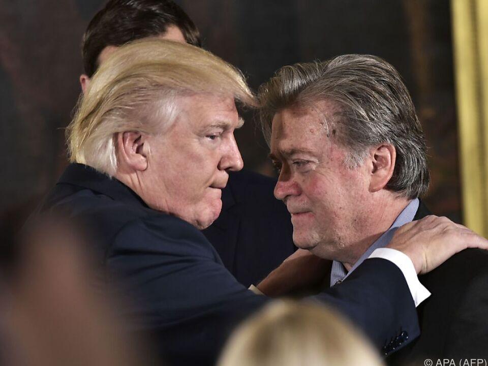 Trump und Bannon sind nicht mehr direkte \