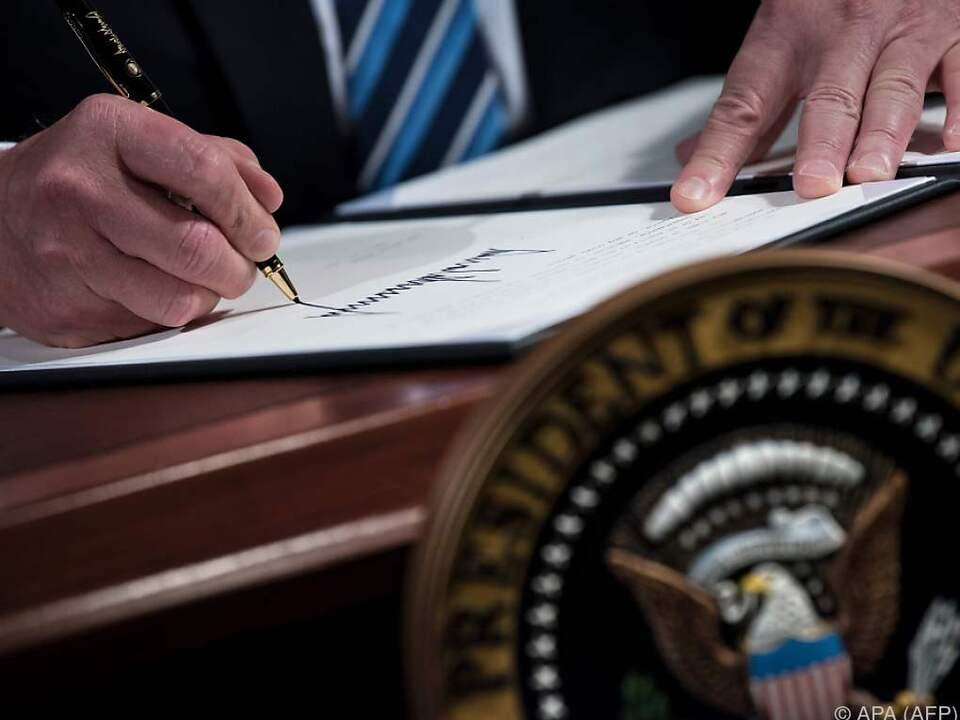 Trump will sich in Sachen NAFTA alle Möglichkeiten offenhalten