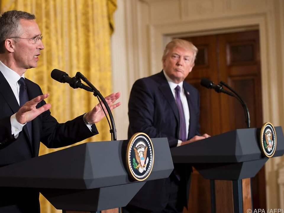 USA und NATO nähern sich wieder an
