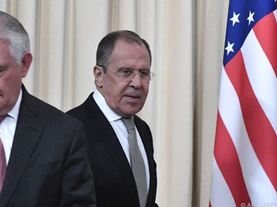 Viele Streitpunkte zwischen den beiden Außenministern