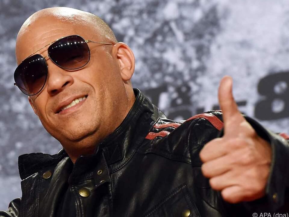 Vin Diesel gibt wieder einmal den coolen Autodieb