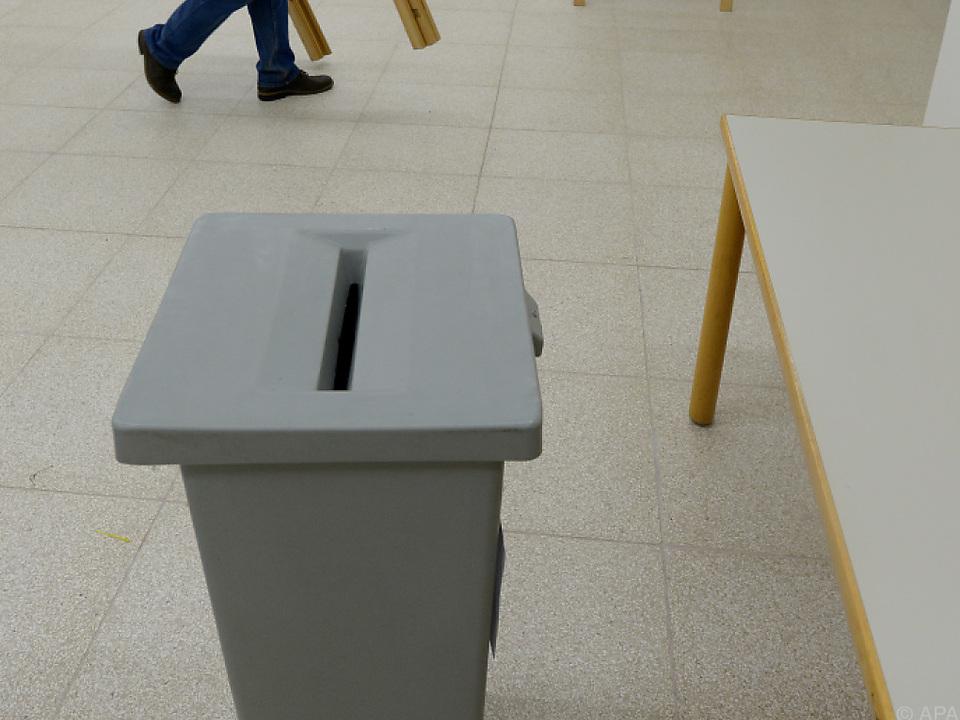 Wahlen finden von 16. bis 18. Mai statt wahlurne