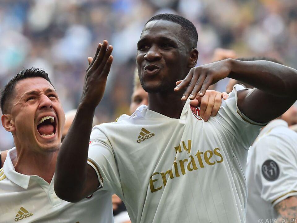 Zapata rettete Milan einen Punkt