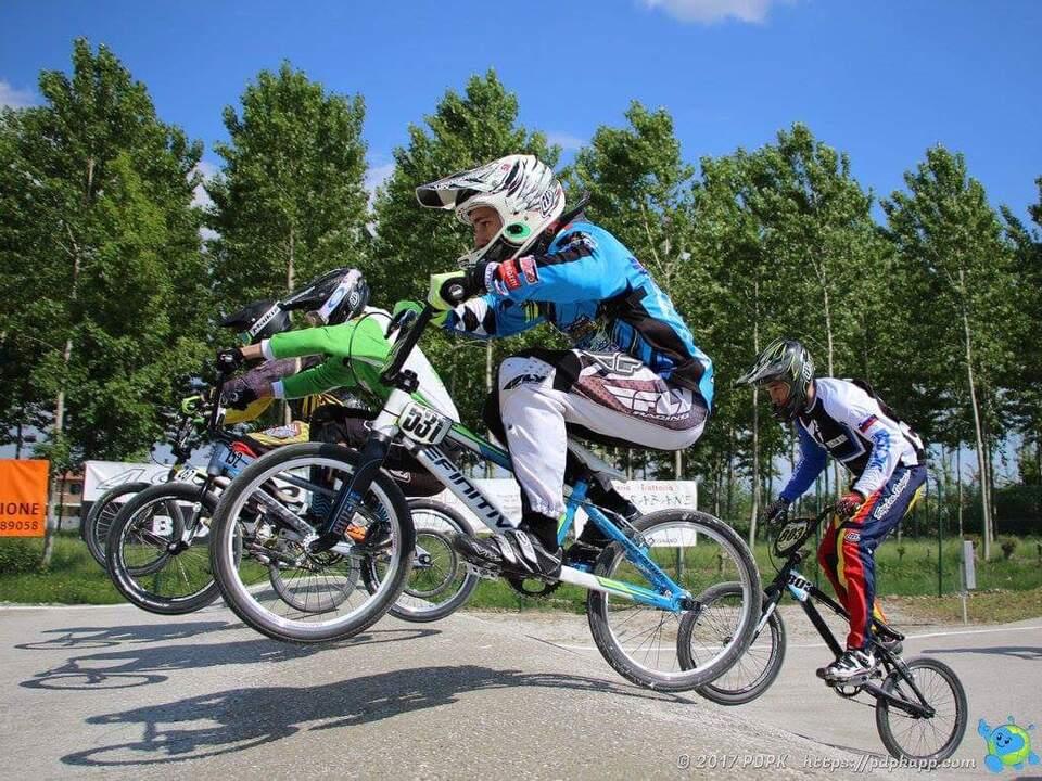 BMX-Rennen Alpea Adria 2017 Rivignano Oskar Schilling