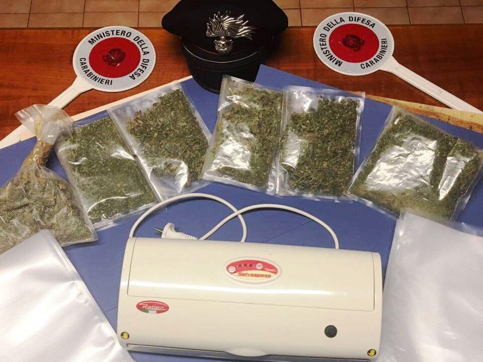 Marihuana vakuumverpackt