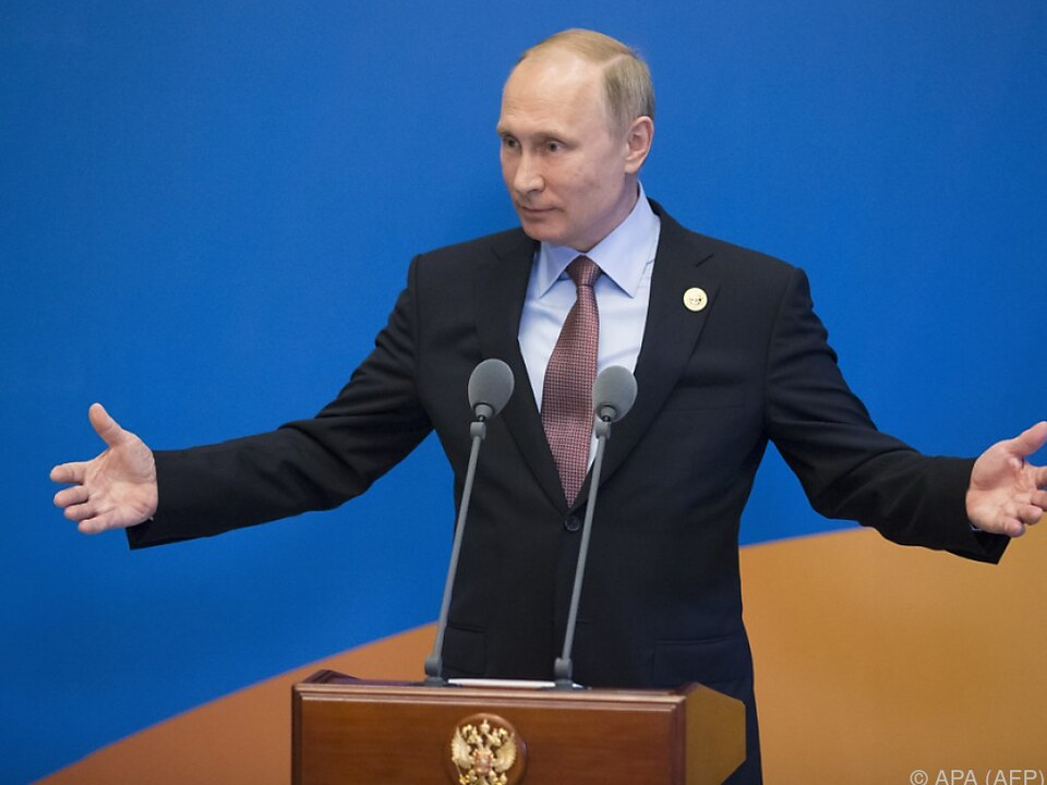 2018 darf Putin noch einmal antreten