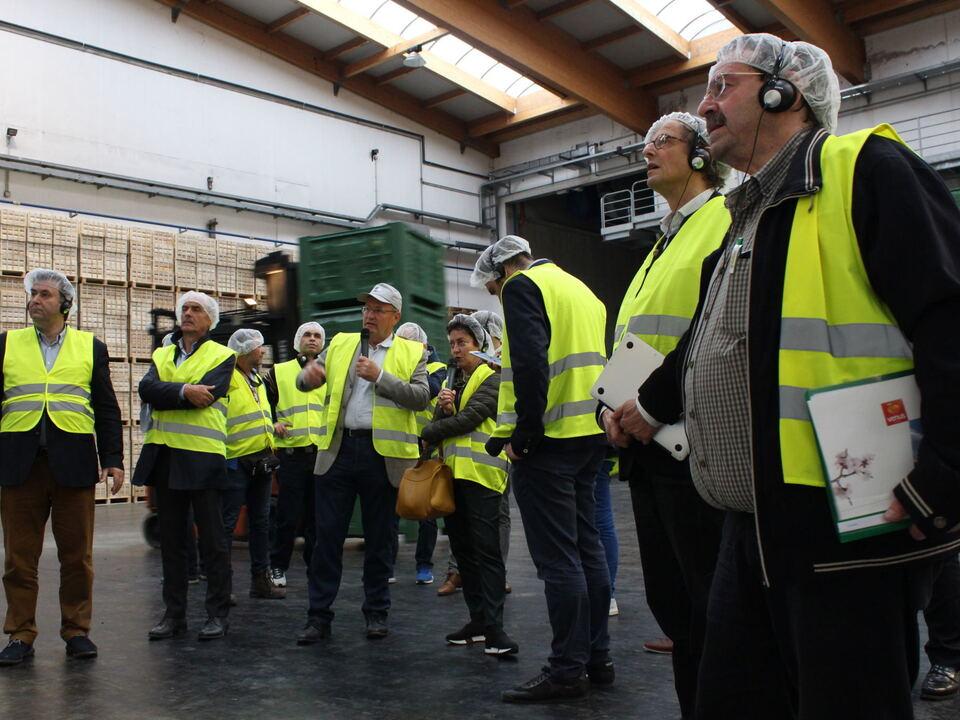 Griechischer Besuch bei Genossenschaft Melix