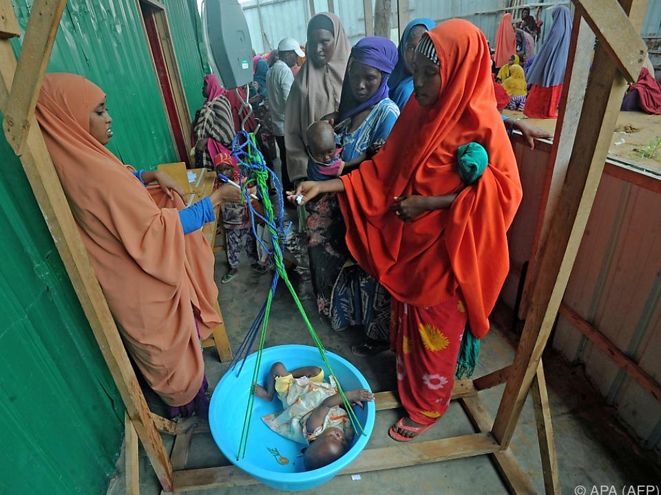 2,9 Mio. Somalier sind von Lebensmittelknappheit betroffen