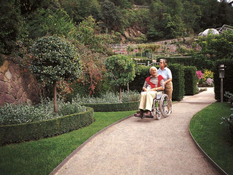 Trauttmansdorff barrierefrei Rollstuhl