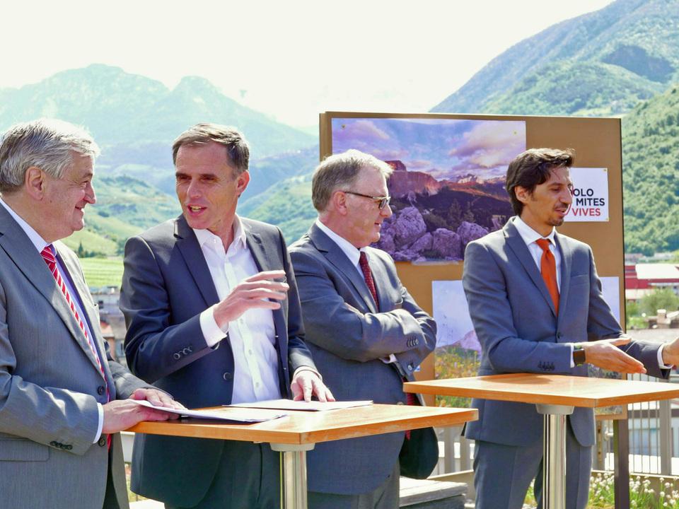 Vorstellung Projekt Dolomites Vives/Mussner/Theiner/Gilmozzi/Pappaladro