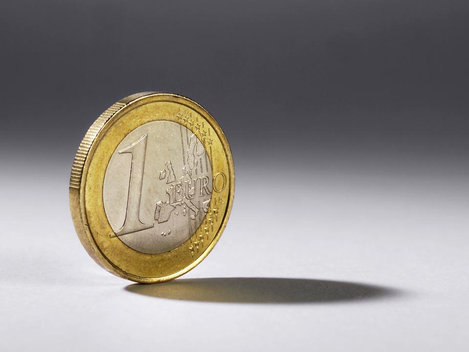 Münze Euro Geld