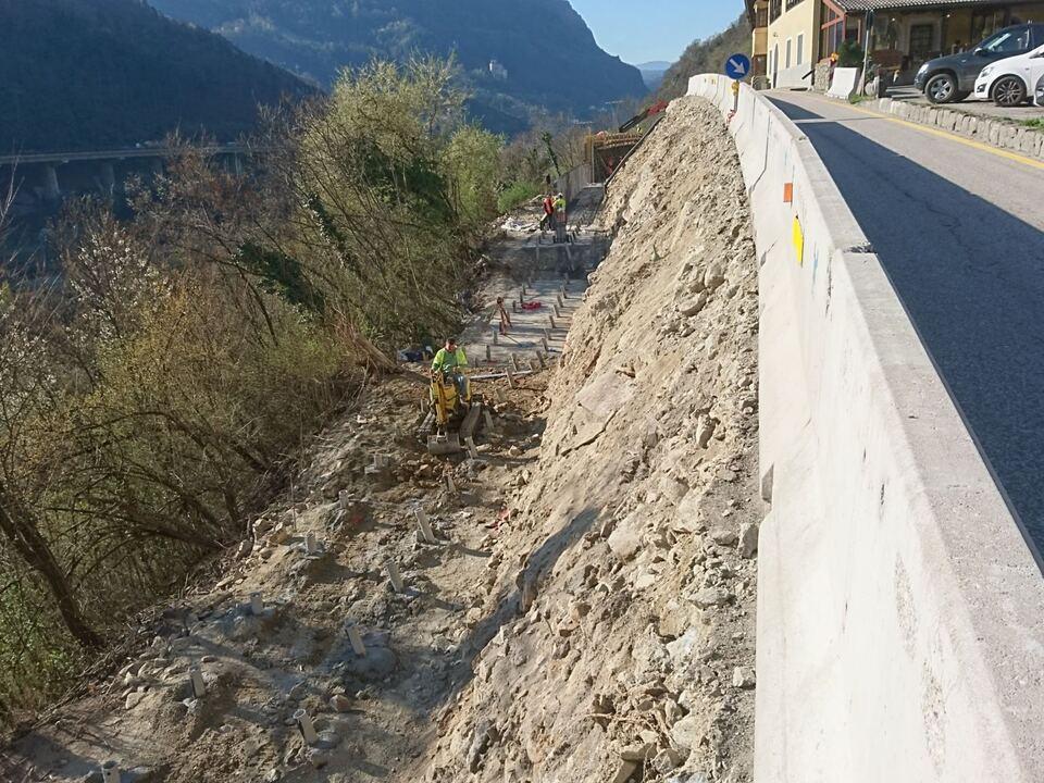Straßenarbeiten Kalter Keller